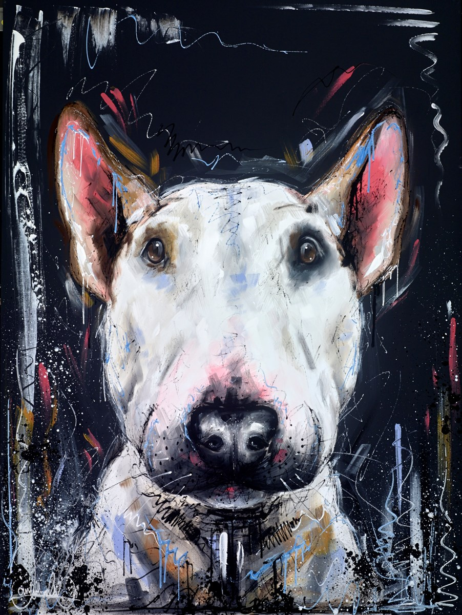 Bully Love V by samantha ellis -  sized 30x40 inches. Available from Whitewall Galleries